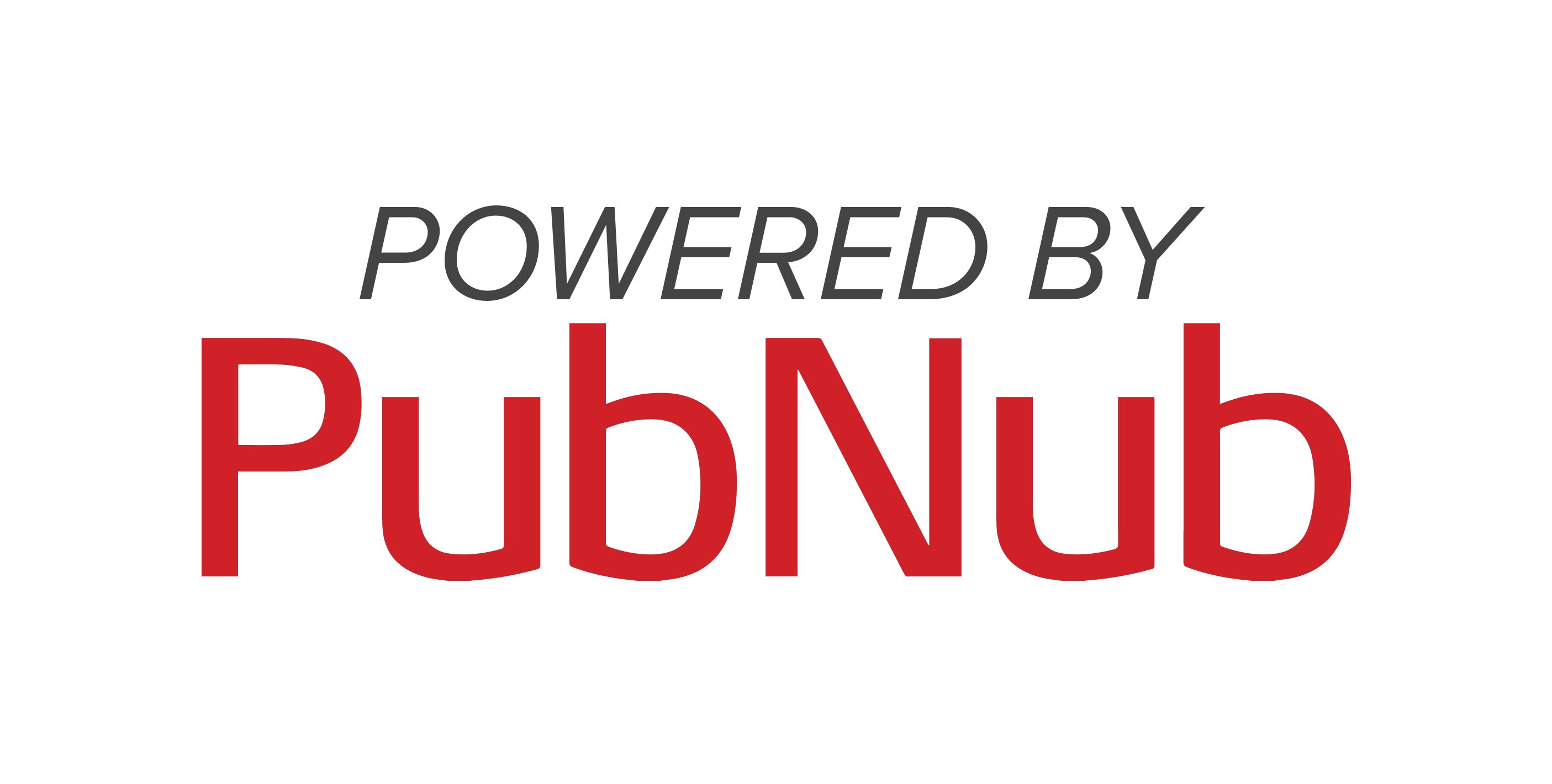 Powered By PubNub